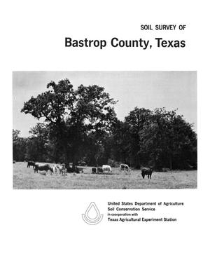 Primary view of object titled 'Soil Survey of Bastrop County, Texas'.