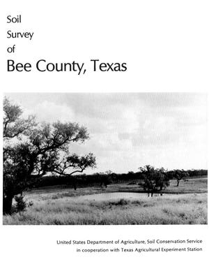 Primary view of object titled 'Soil Survey of Bee County, Texas'.
