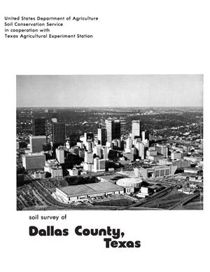 Primary view of object titled 'Soil Survey of Dallas County, Texas'.