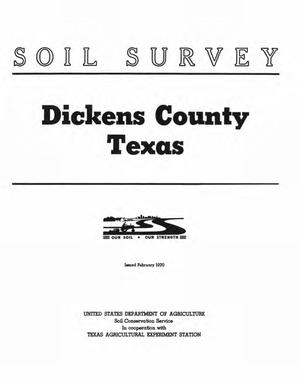 Primary view of object titled 'Soil Survey of Dickens County, Texas'.