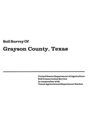 Primary view of object titled 'Soil Survey of Grayson County, Texas'.