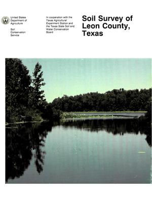 Primary view of object titled 'Soil Survey of Leon County, Texas'.