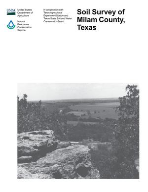 Primary view of object titled 'Soil Survey of Milam County, Texas'.
