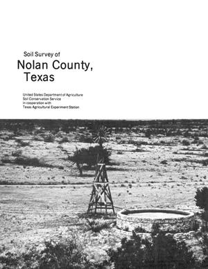 Primary view of object titled 'Soil Survey of Nolan County, Texas'.