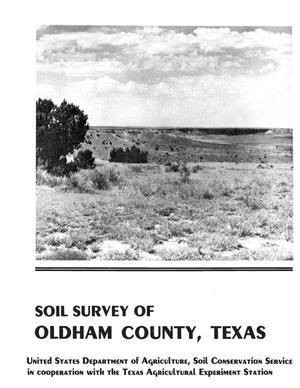 Primary view of object titled 'Soil Survey of Oldham County, Texas'.