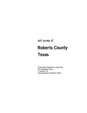 Primary view of object titled 'Soil Survey of Roberts County, Texas'.