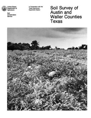 Soil Survey of Austin and Waller Counties, Texas