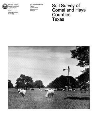 Primary view of object titled 'Soil Survey of Comal and Hays Counties, Texas'.