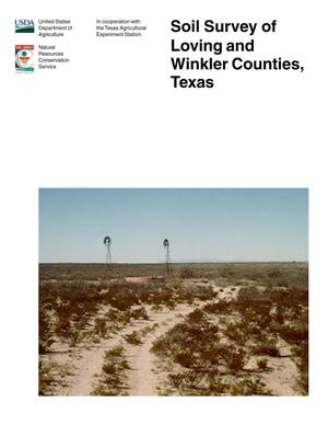 Primary view of object titled 'Soil Survey of Loving and Winkler Counties, Texas'.