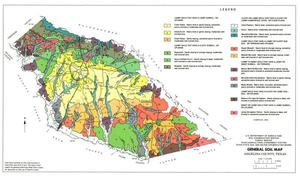 General Soil Map, Angelina County, Texas