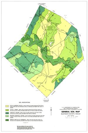 General Soil Map, Bastrop County, Texas