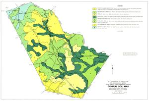 General Soil Map, Bee County, Texas