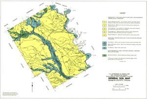 General Soil Map, Bosque County, Texas