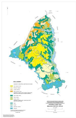General Soil Map, Brazos County, Texas