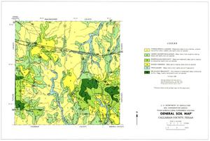 General Soil Map, Callahan County, Texas