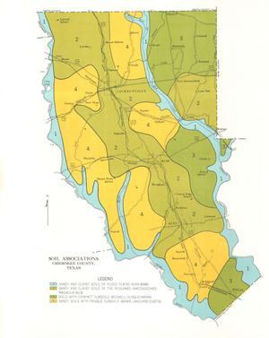 General Soil Map, Cherokee County, Texas