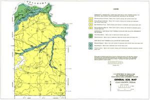 General Soil Map, Clay County, Texas