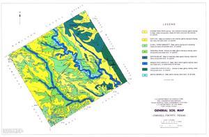General Soil Map, Coryell County, Texas