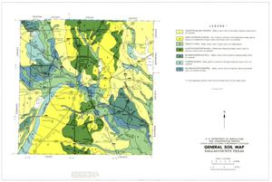Primary view of object titled 'General Soil Map, Dallas County, Texas'.