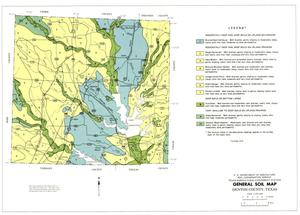 General Soil Map, Denton County, Texas