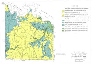 General Soil Map, Grayson County, Texas