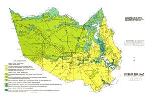 General Soil Map, Harris County, Texas