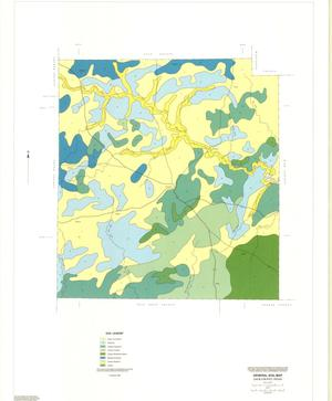 Primary view of object titled 'General Soil Map, Jack County, Texas'.