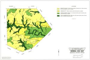 General Soil Map, Kendall County, Texas