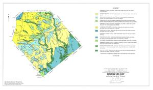 General Soil Map, Lavaca County, Texas