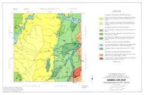 General Soil Map, Shackelford County, Texas