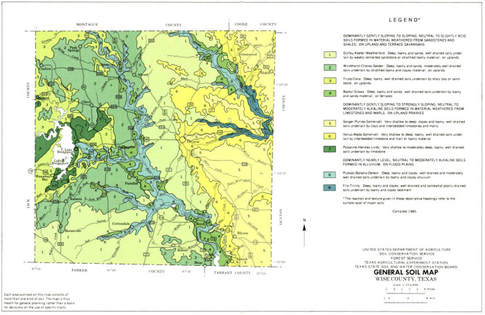 General Soil Map, Wise County, Texas - The Portal to Texas