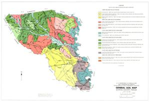 General Soil Map, Austin County, Texas