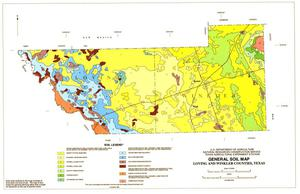Primary view of object titled 'General Soil Map, Loving and Winkler Counties, Texas'.