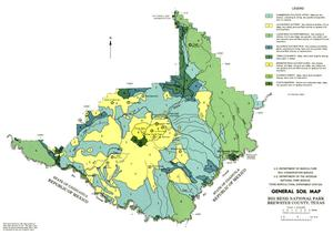 General Soil Map, Big Bend National Park, Brewster County, Texas