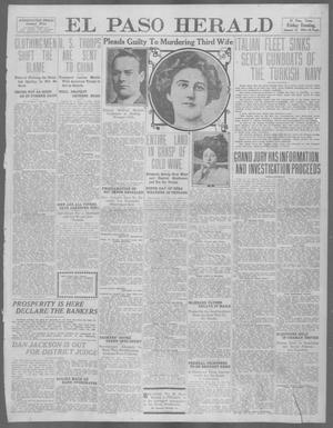 Primary view of object titled 'El Paso Herald (El Paso, Tex.), Ed. 1, Friday, January 12, 1912'.