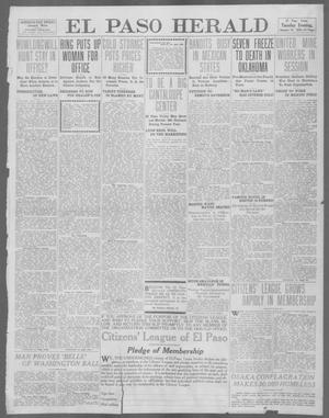 Primary view of object titled 'El Paso Herald (El Paso, Tex.), Ed. 1, Tuesday, January 16, 1912'.