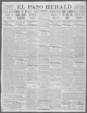 Primary view of object titled 'El Paso Herald (El Paso, Tex.), Ed. 1, Thursday, January 18, 1912'.