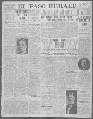Primary view of object titled 'El Paso Herald (El Paso, Tex.), Ed. 1, Monday, January 22, 1912'.