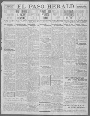 Primary view of object titled 'El Paso Herald (El Paso, Tex.), Ed. 1, Wednesday, January 24, 1912'.