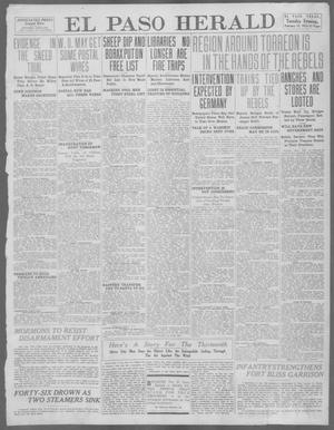 Primary view of object titled 'El Paso Herald (El Paso, Tex.), Ed. 1, Tuesday, February 13, 1912'.