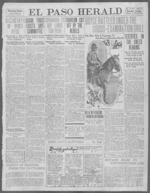 Primary view of object titled 'El Paso Herald (El Paso, Tex.), Ed. 1, Saturday, February 17, 1912'.