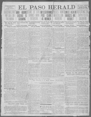 Primary view of object titled 'El Paso Herald (El Paso, Tex.), Ed. 1, Tuesday, February 20, 1912'.