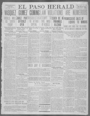 Primary view of object titled 'El Paso Herald (El Paso, Tex.), Ed. 1, Thursday, February 29, 1912'.