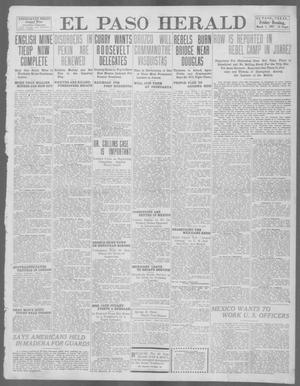 Primary view of object titled 'El Paso Herald (El Paso, Tex.), Ed. 1, Friday, March 1, 1912'.