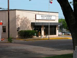 Primary view of object titled 'Breckenridge City Offices'.