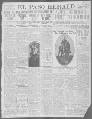 Primary view of object titled 'El Paso Herald (El Paso, Tex.), Ed. 1, Friday, April 12, 1912'.