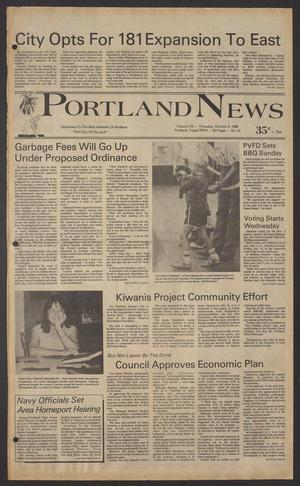 Portland News (Portland, Tex.), Vol. 20, No. 41, Ed. 1 Thursday, October 9, 1986