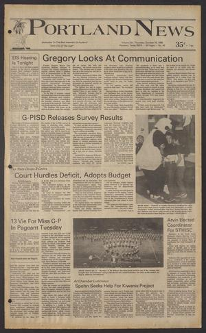 Portland News (Portland, Tex.), Vol. 20, No. 42, Ed. 1 Thursday, October 16, 1986