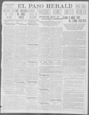 Primary view of object titled 'El Paso Herald (El Paso, Tex.), Ed. 1, Monday, May 6, 1912'.