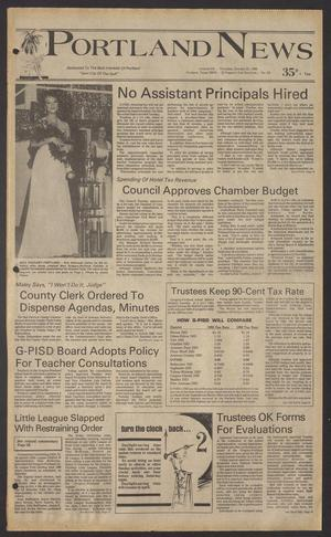 Portland News (Portland, Tex.), Vol. 20, No. 43, Ed. 1 Thursday, October 23, 1986
